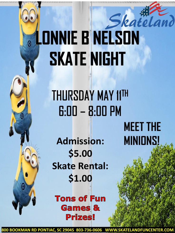 LBNE Skate Night Flyer 05 11 2017