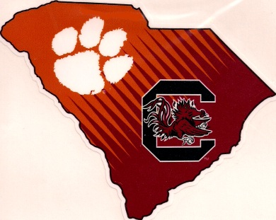 Clemson_Tigers_South_Carolina_Gamecocks_House_Divided_SC_Decal
